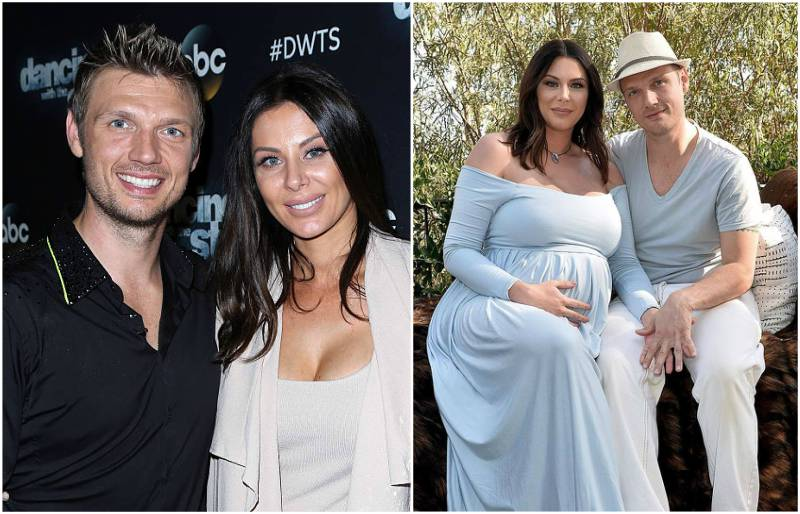 Nick Carter's family - wife Lauren Michelle Kitt