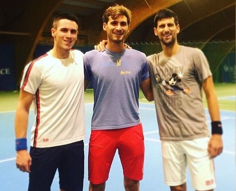Novak Djokovic's siblings