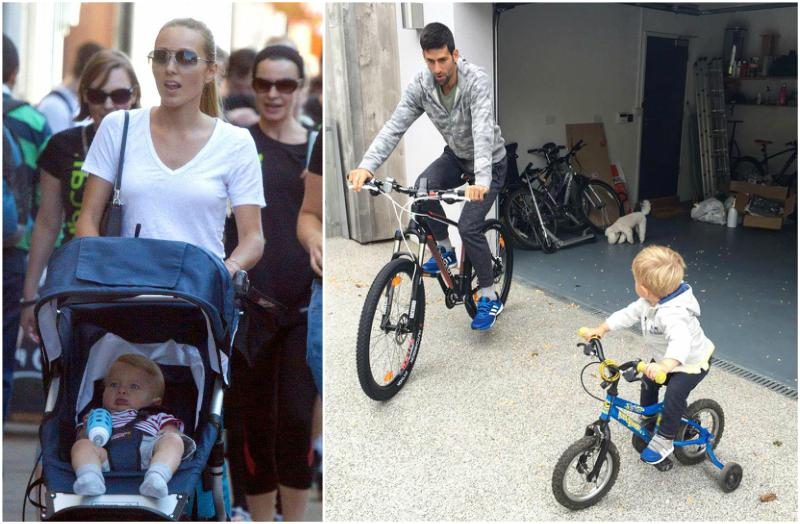 Novak Djokovic's children - son Stefan Djokovic