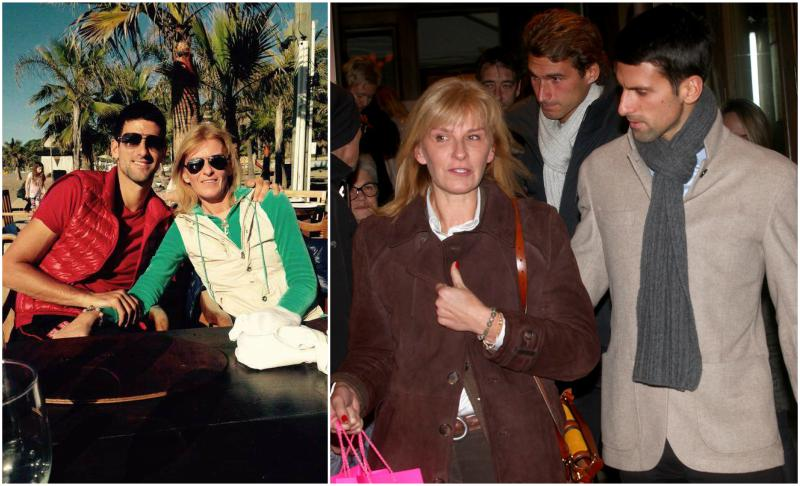 Novak Djokovic's family - mother Dijana Djokovic