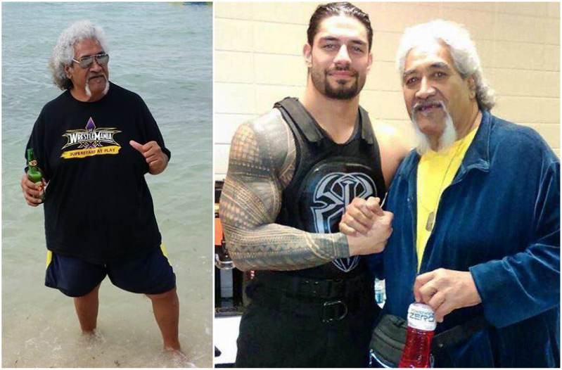 "Roman Reigns' family - father Leati ""Sika"" Anoa'i"