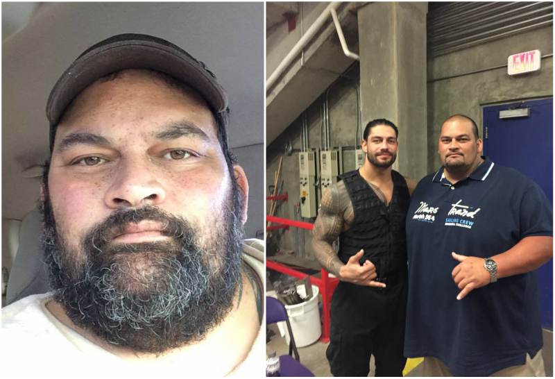 Roman Reigns' siblings - brother Matthew Rosey Anoa'i