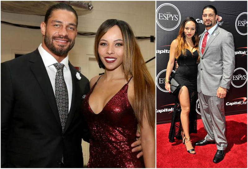 Roman Reigns' family - wife Galina Becker