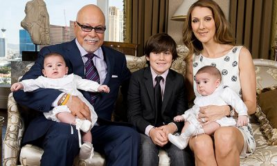 Celine Dion's family: husband and kids