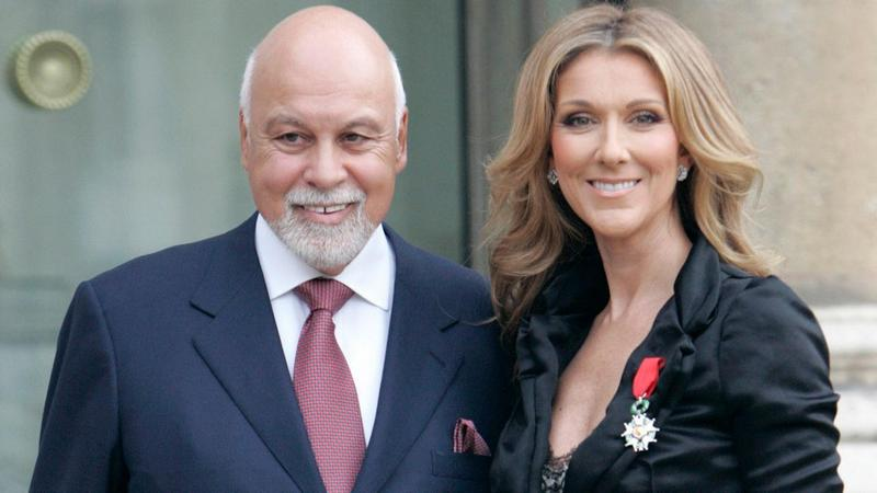 Celine Dion's family - husband Rene Angelil