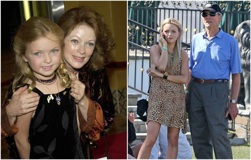 Clint Eastwood's children - daughter Francesca Eastwood