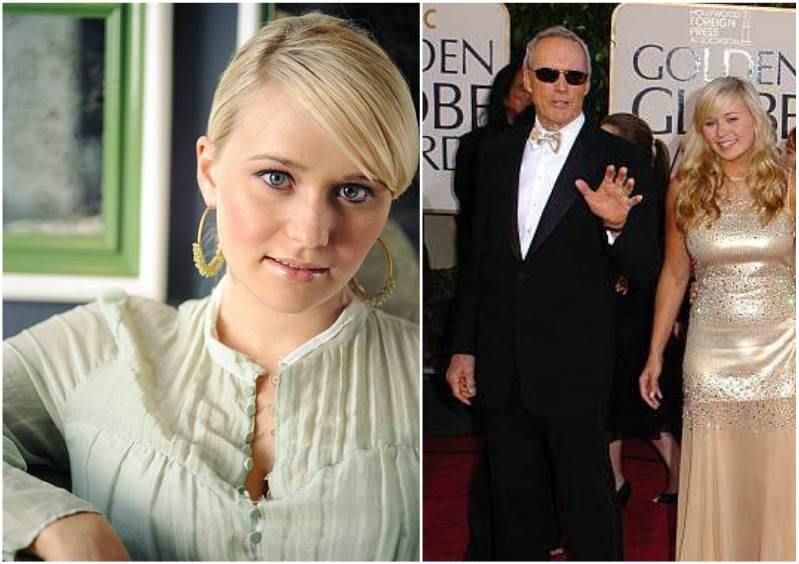 Clint Eastwood's children - daughter Kathryn Eastwood