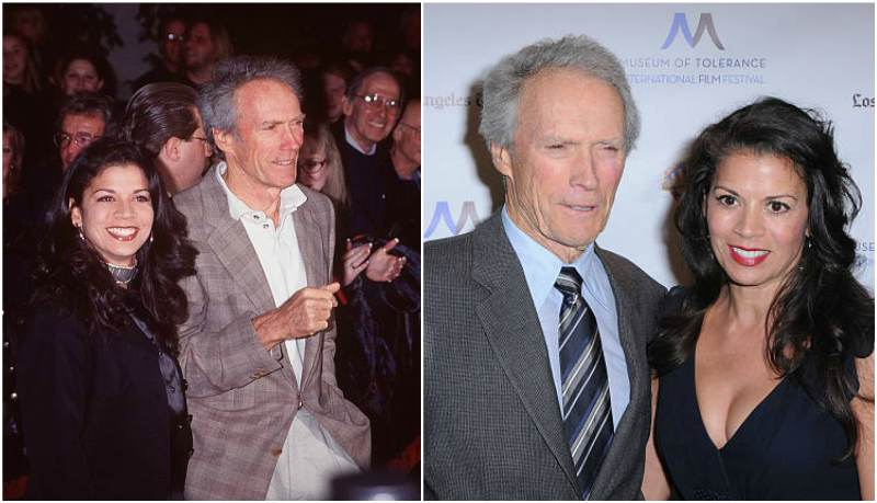 Clint Eastwood's family - ex-wife Dina Ruiz Eastwood
