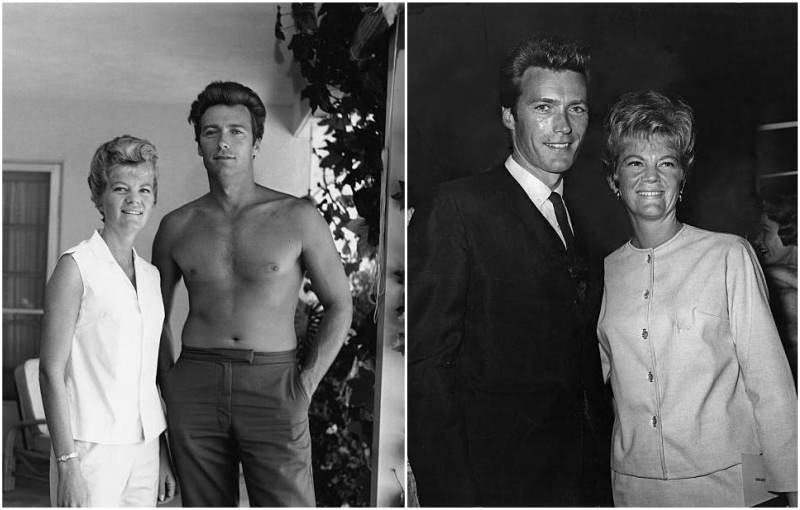 Clint Eastwood's family - ex-wife Margaret Neville Johnson