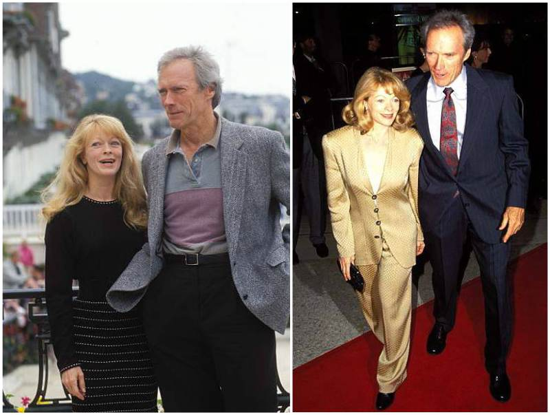 Clint Eastwood's family - ex-wife Frances Fisher