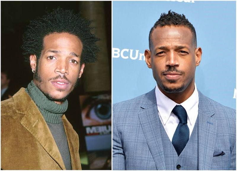 Damon Wayans Sr siblings - brother Marlon Wayans