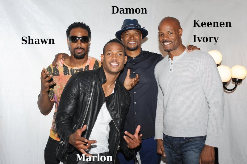 Damon Wayans Sr. siblings