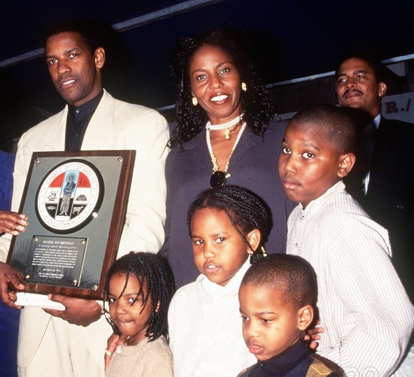 Denzel Washington's family: wife and kids