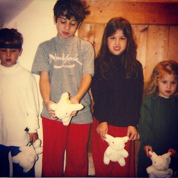 Dustin Hoffman's family - kids