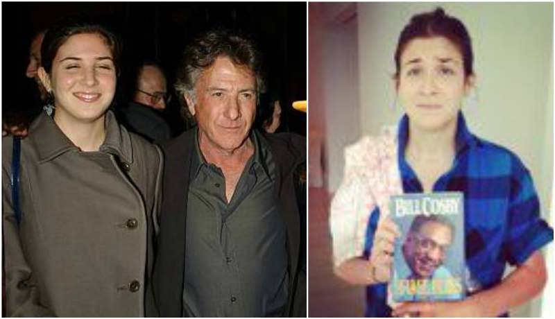 Dustin Hoffman's children - daughter Rebecca Hoffman (now Rebecca Jansen)