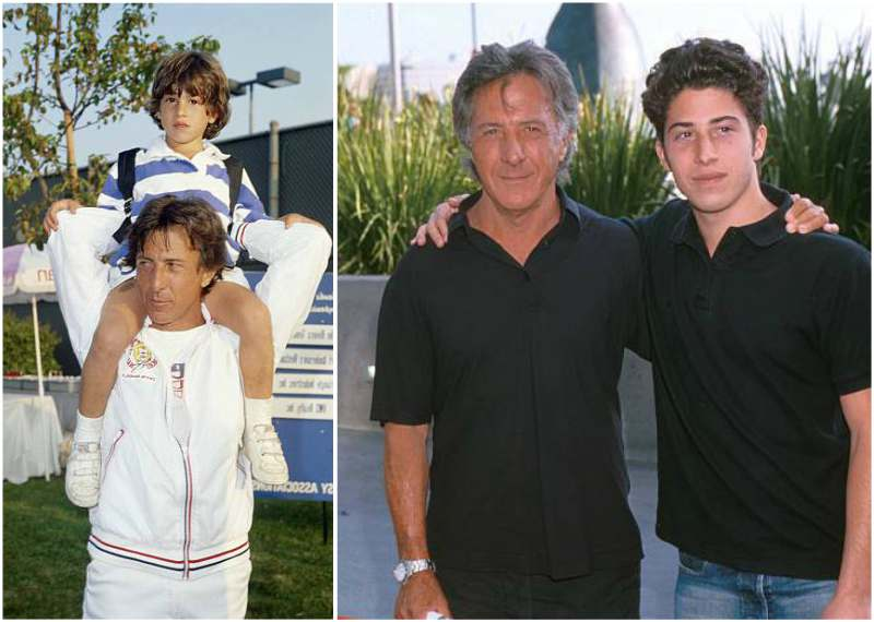 Dustin Hoffman's children - son Jacob Edward Hoffman