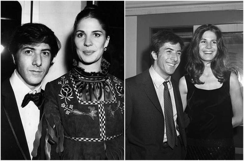 Dustin Hoffman's family - ex-wife Anne Byrne