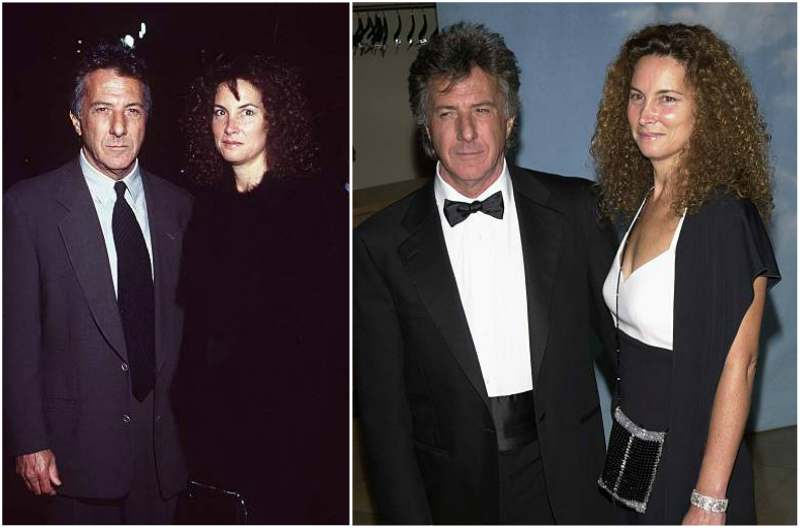 Dustin Hoffman's family - wife Lisa Jo Hoffman