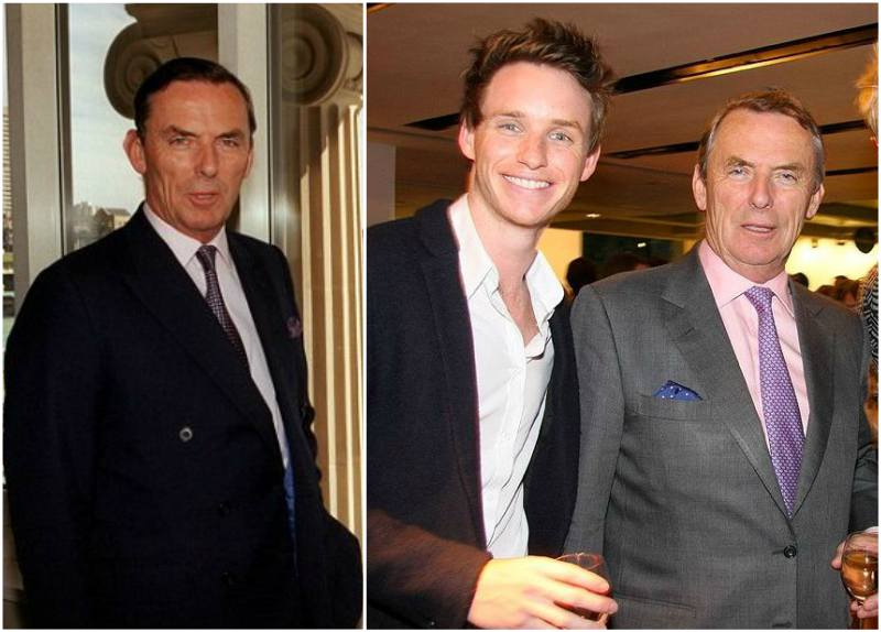 Eddie Redmayne's family - father Richard Redmayne