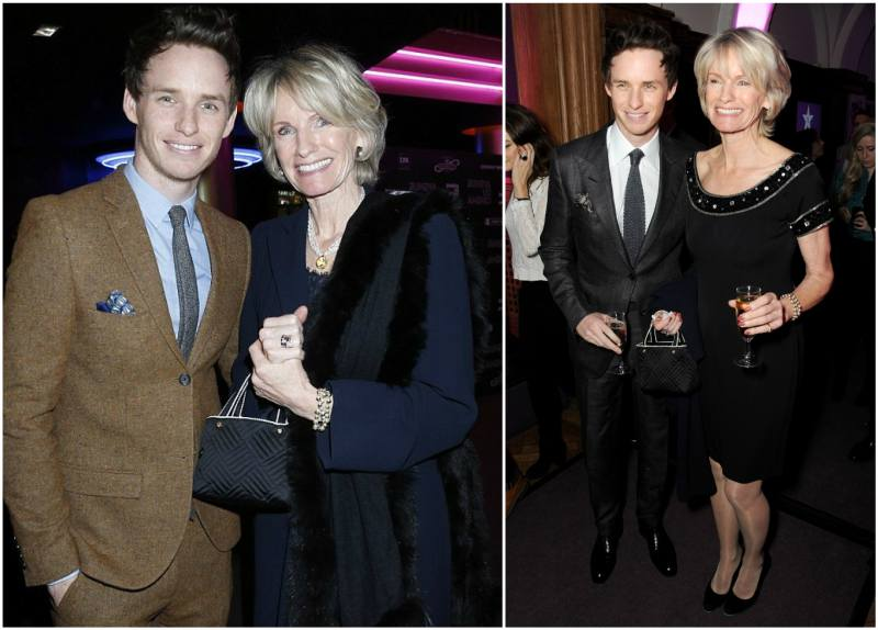 Eddie Redmayne's family - mother Patricia Redmayne