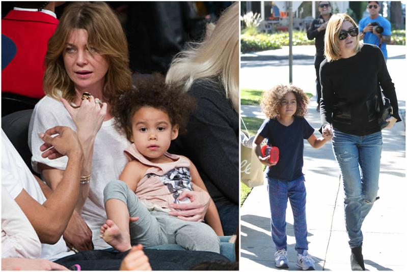 Ellen Pompeo's children - daughter Stella Luna Pompeo Ivery