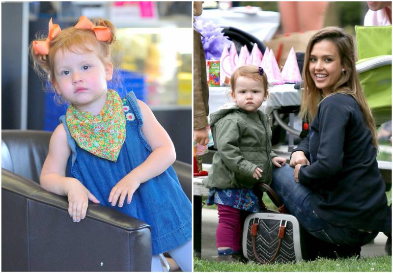 Jessica Alba's children - daughter Haven Garner Warren