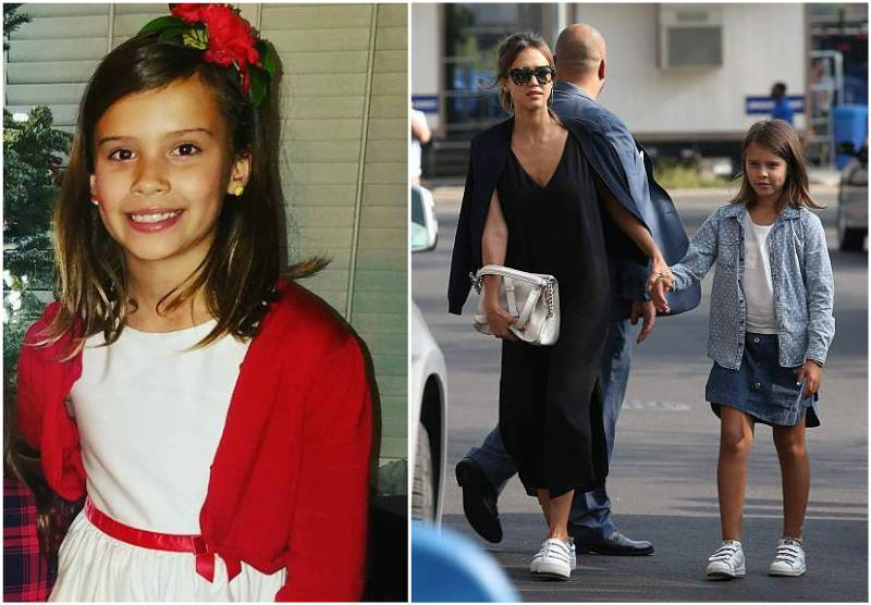 Jessica Alba's children - daughter Honor Marie Warren