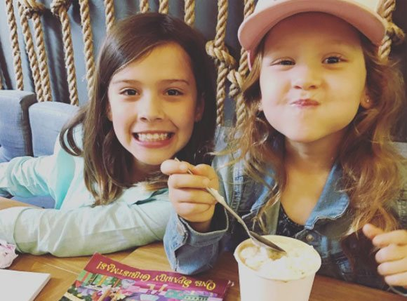 Jessica Alba's children - daughters