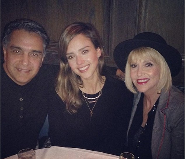 Jessica Alba's family - parents