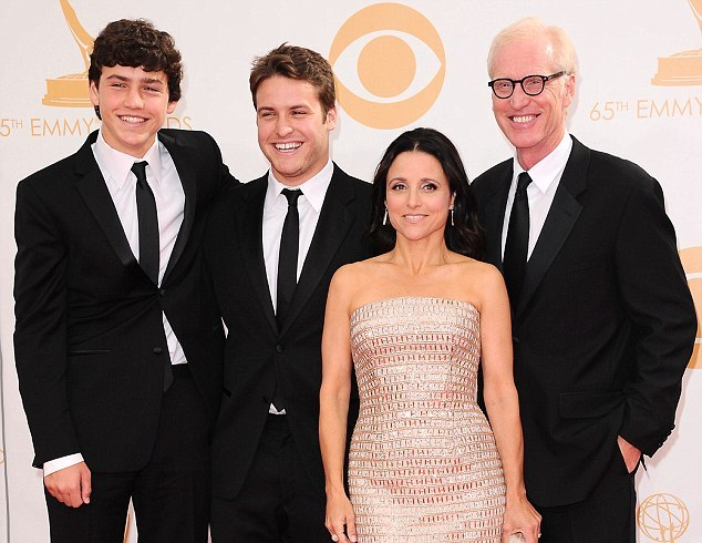 Julia Louis-Dreyfus' family