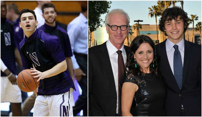 Julia Louis-Dreyfus' children - son Charlie Hall