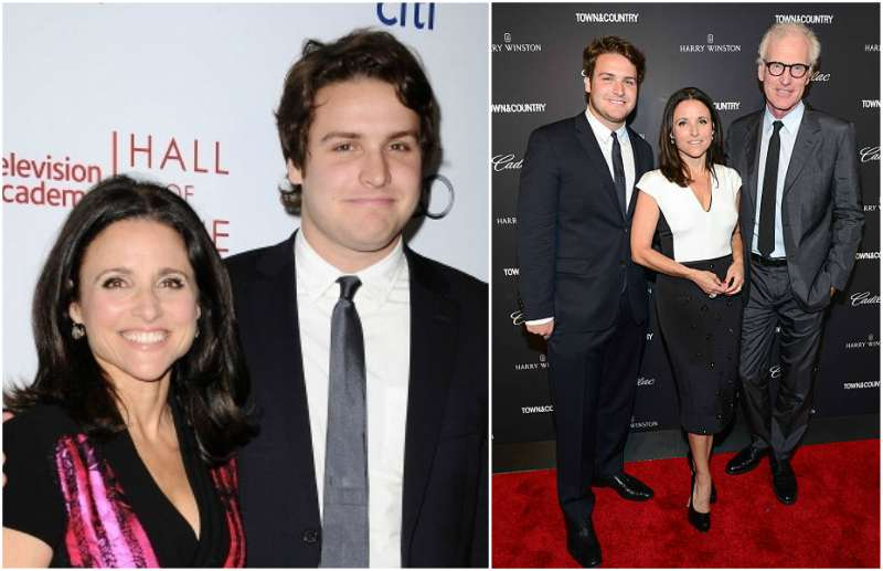 Julia Louis-Dreyfus' children - son Henry Hall