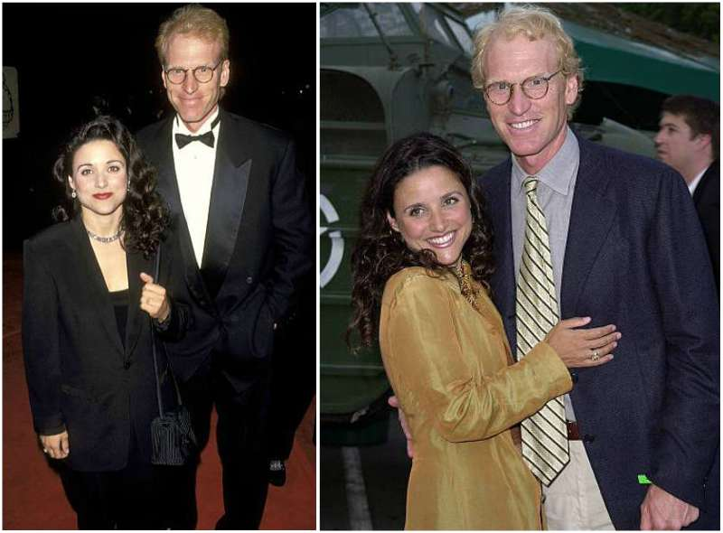 Julia Louis-Dreyfus' family - husband Brad Hall