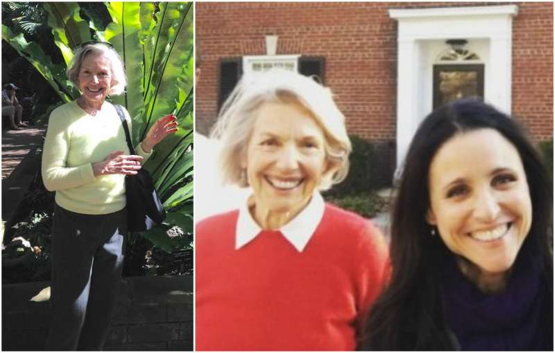 Julia Louis-Dreyfus' family - mother Judith Bowles