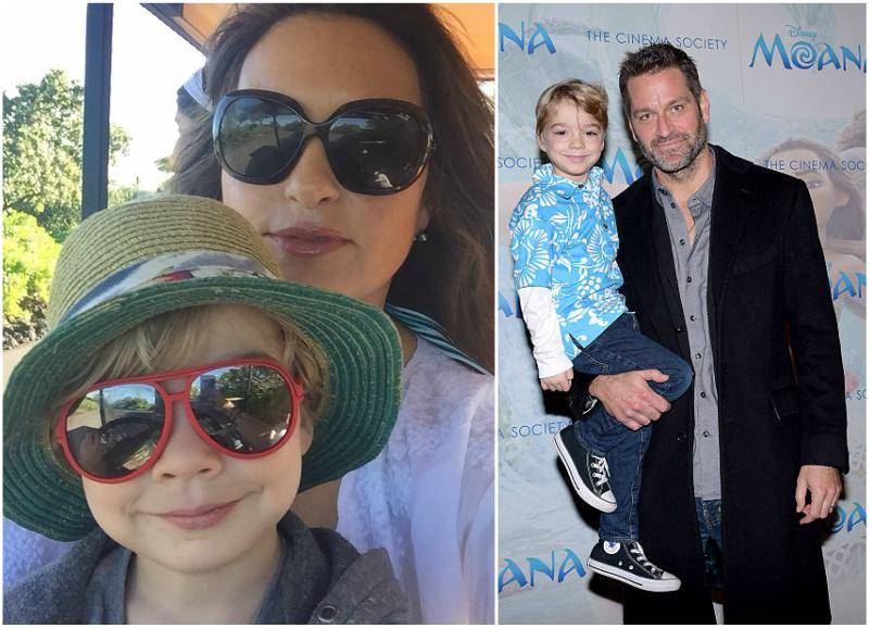 Mariska Hargitay's children - son Andrew Nicolas Hargitay Hermann