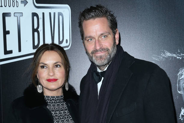 Mariska Hargitay`s family - husband Peter Hermann