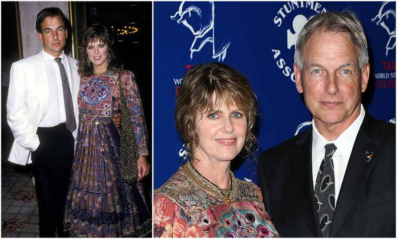 Mark Harmon's family - wife Pamela Dawber