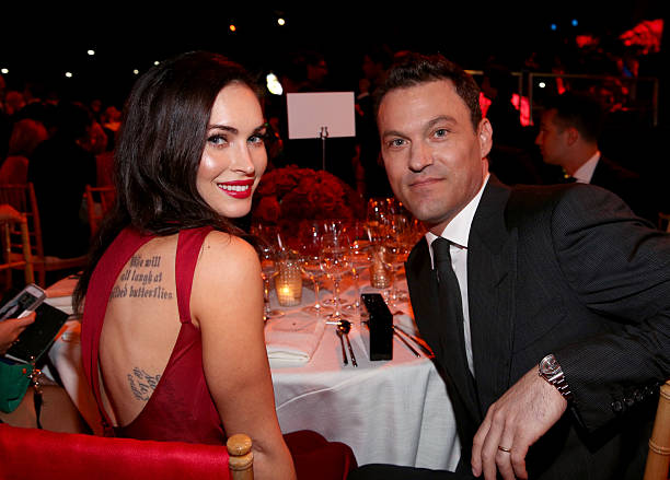 Megan Fox's family - husband Brian Austin Green