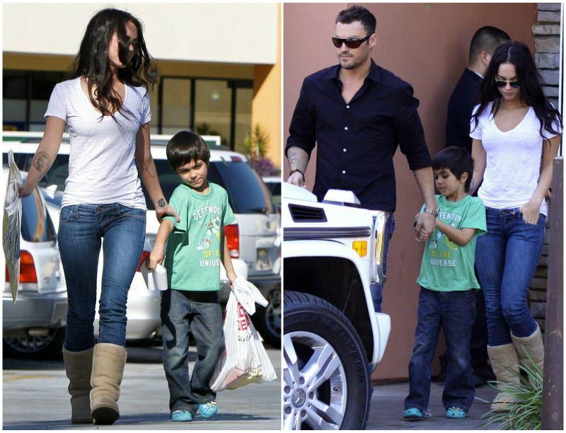 Megan Fox's children - step-son Kassius Lijah Green