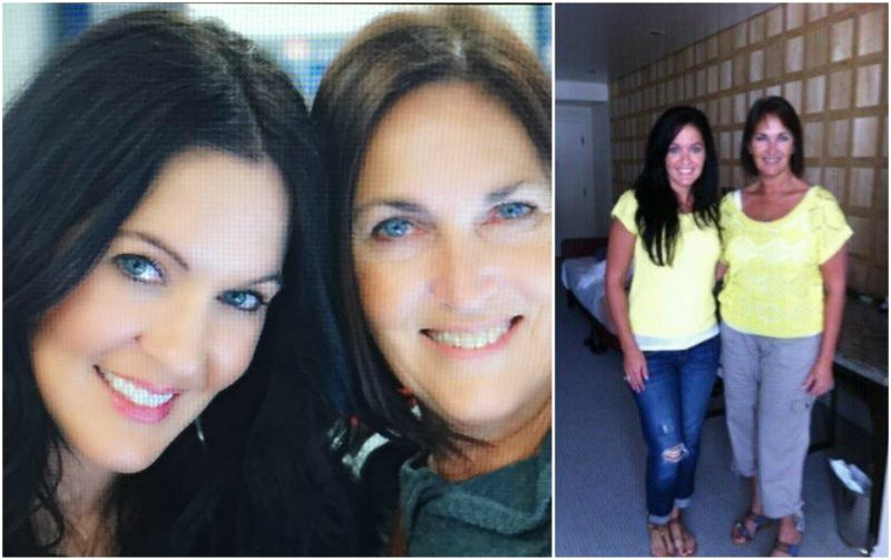 Megan Fox's family - mother Gloria and sister Kristi Branim Fox