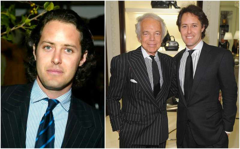 Ralph Lauren's children - son David Lauren