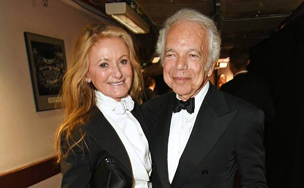 Ralph Lauren's family - wife Ricky Anne Loew-Beer