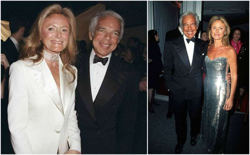 Ralph Lauren's family - wife Ricky Lauren (nee Loew-Beer)