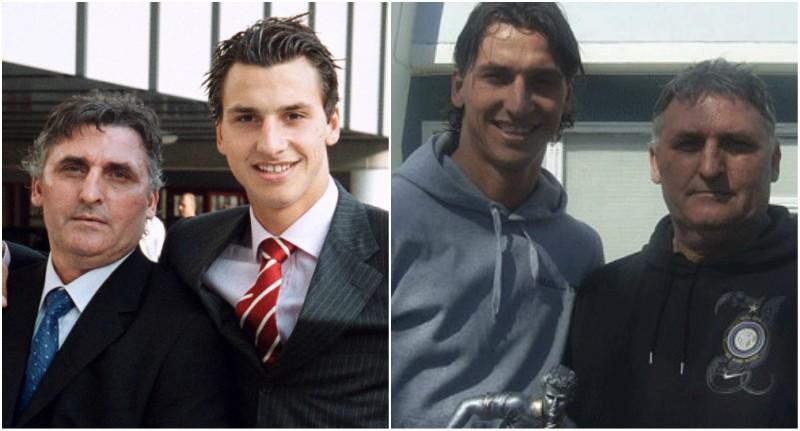 Zlatan Ibrahimovic's family - father Sefik Ibrahimovic Kinko