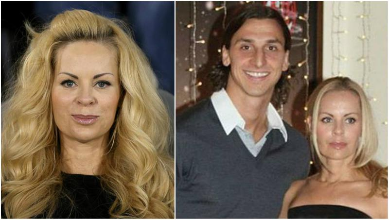 Zlatan Ibrahimovic's family - wife Helena Seger