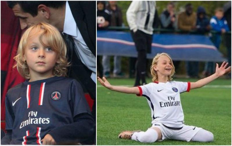 Zlatan Ibrahimovic's children - son Maximilian Ibrahimovic
