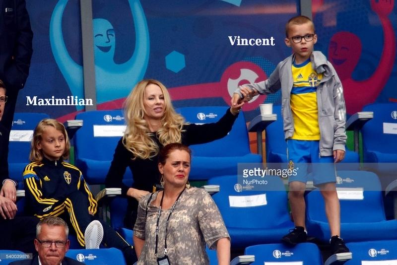 Zlatan Ibrahimovic's children