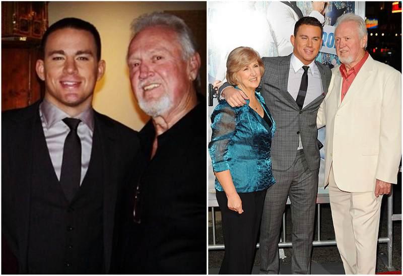 Channing Tatum's family - father Glenn Matthew Tatum