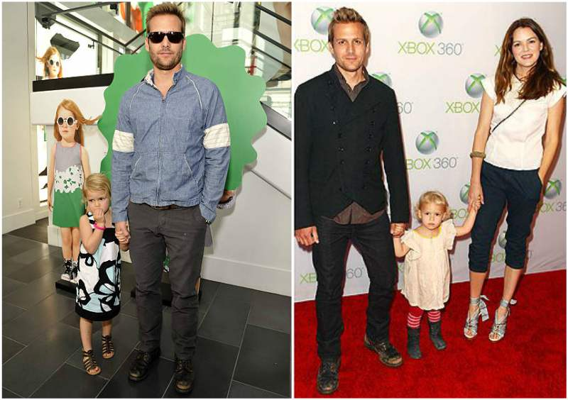 Gabriel Macht's children - daughter Satine Anais Geraldine Macht