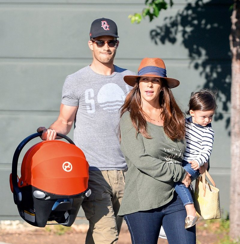 Jennifer Love Hewitt's children - son Atticus James Hallisay